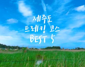 제주도 트레킹 코스 추천 BEST 5