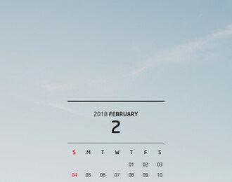 2월 추천여행지 시드니 배경화면/달력 다운로드