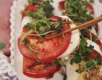 간단한 안주♥ 토마토카프레제