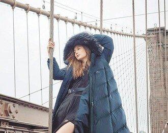 근육맨 숏패딩부터 하프-롱까지 스타일 따라 골라 입는 다운재킷