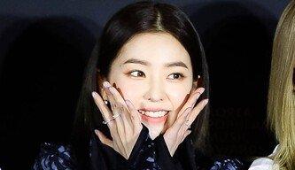 [포토] '2018 KPMA' 레드벨벳 아이린 '맏언니도 깜찍해요~'