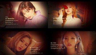 (여자)아이들, 타이틀곡 'Senorita' 오디오 티저 공개…소연 자작곡