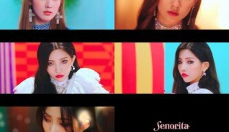[DA:클립] (여자)아이들 미연·소연, 'Senorita' MV 티저 공개…팔색조 매력
