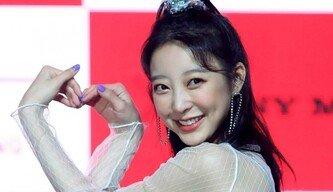[포토] EXID 혜린 '팬을 향한 왕하트'
