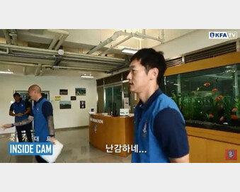 """[영상]족보 꼬인 이동국·차두리·김남일 첫 만남…'선수' 이동국  """"난감하네"""""""