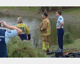 운전연습 중 호수에 빠진 아내 구하려다…젊은 부부 참변