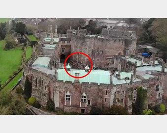 [영상]12세기 고성 위에 드론 날렸다가 통신 불량…영상 확인하고 '소름'