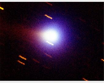 가장 밝은 '비르타넨 혜성' 13일 밤 하늘 환하게 수놓는다