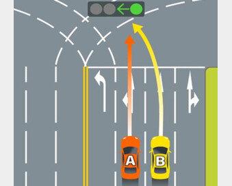 직진차로 좌회전 과실, 쌍방 →100%…운전자들 쌍수 들어 환영