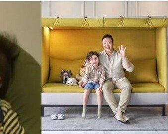 정준하 아들 공개…과거 사진 비교하니 '폭풍 성장'