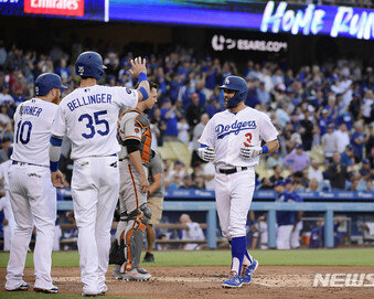 LA 다저스, 올 시즌 MLB서 가장 먼저 50승 고지…42년 만에