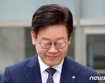 """'지사직 상실 위기' 징역 1년6개월 구형 이재명 """"한치의 부끄럼 없다"""""""
