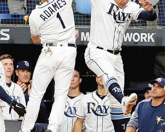 탬파베이, 최강 휴스턴과 끝까지 왔다… ALDS 4차전도 승리 2승 2패 이변