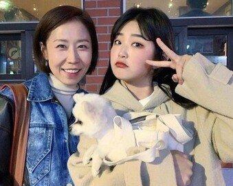 정선희, 故 최진실 딸 준희와 만남…따뜻한 미소