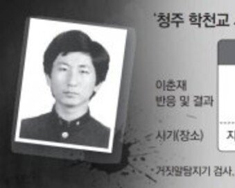 """[단독]이춘재 추가 살인 조사서 거짓말탐지기 """"삐∼"""", 법최면땐 고성"""