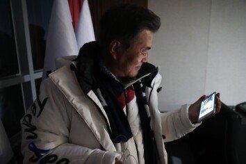 [청계천 옆 사진관] 평창동계올림픽 1주년, 문재인 대통령 미공개 사진 공개