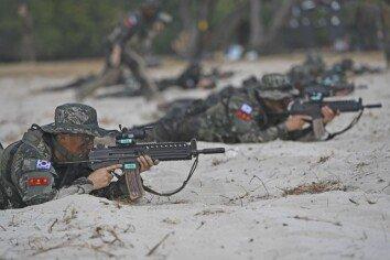 [원대연의 잡학사진]해병대 장병들, 태국서 '코브라 골드' 연합 훈련
