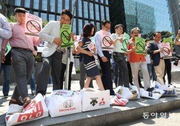 [청계천 옆 사진관]시민단체·지자체도 동참…불붙는 반일운동