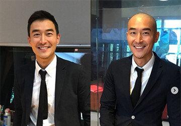 """""""다시 태어났다""""…김인석, 삭발 공약 실천 ft.안젤라 박"""