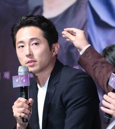 영화 '버닝' 제작보고회…유아인x스티븐연x전종서