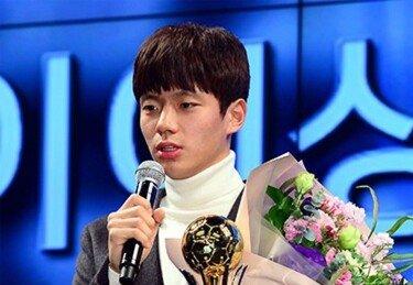 2018년 한국축구 최고 샛별은 전세진