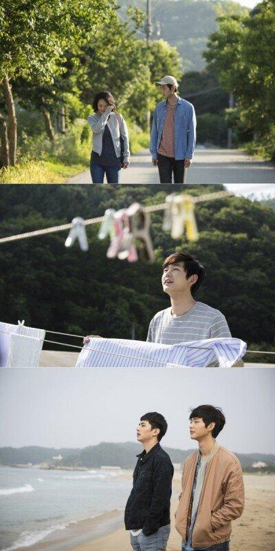 배종옥-이원근-지윤호 '환절기' 일러스트 포스터&계절 스틸 공개