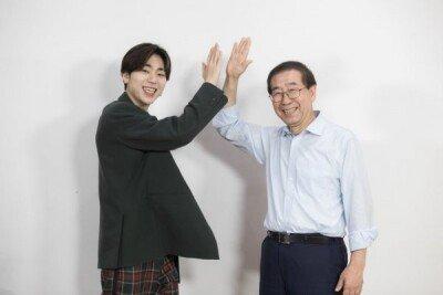 """지코 """"박원순 서울 시장님에게 랩 겉모양만 알려드렸다"""""""