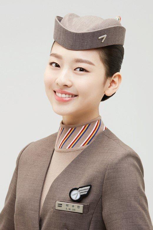 '보니하니' 이수민, 아시아나항공 모델 발탁…역대 최연소