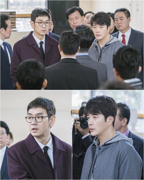 [DAY컷] '추리의여왕2' 권상우·김태우, 당황한 위기의 형제