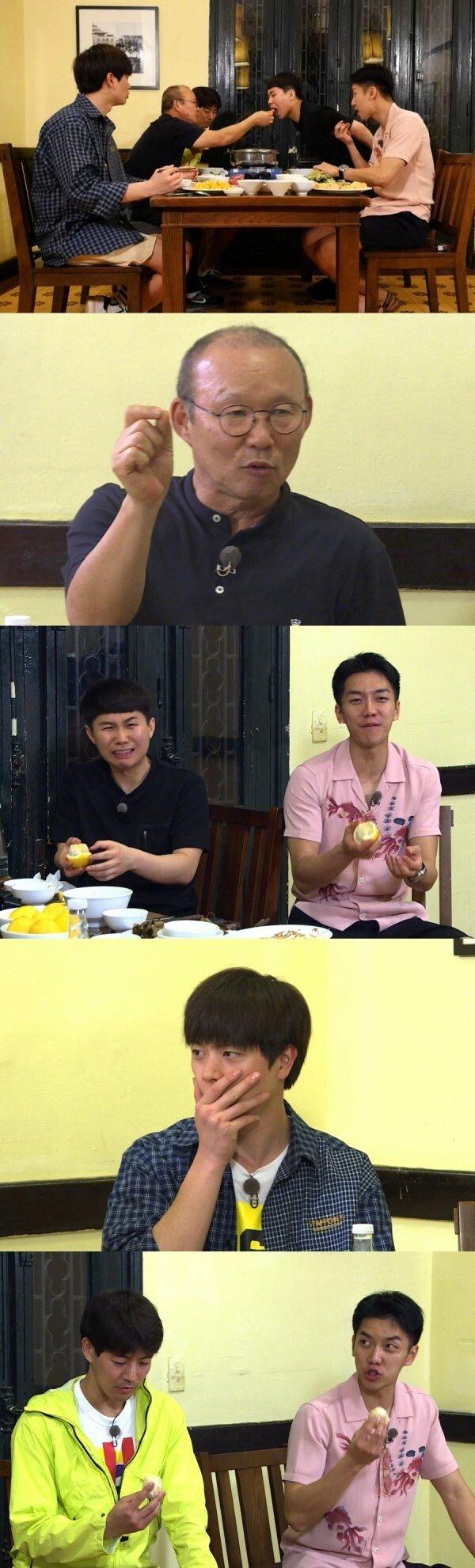 "[DAY컷] ""10억짜리 선물 걸렸다""… '집사부일체' 美친 레몬 먹기"