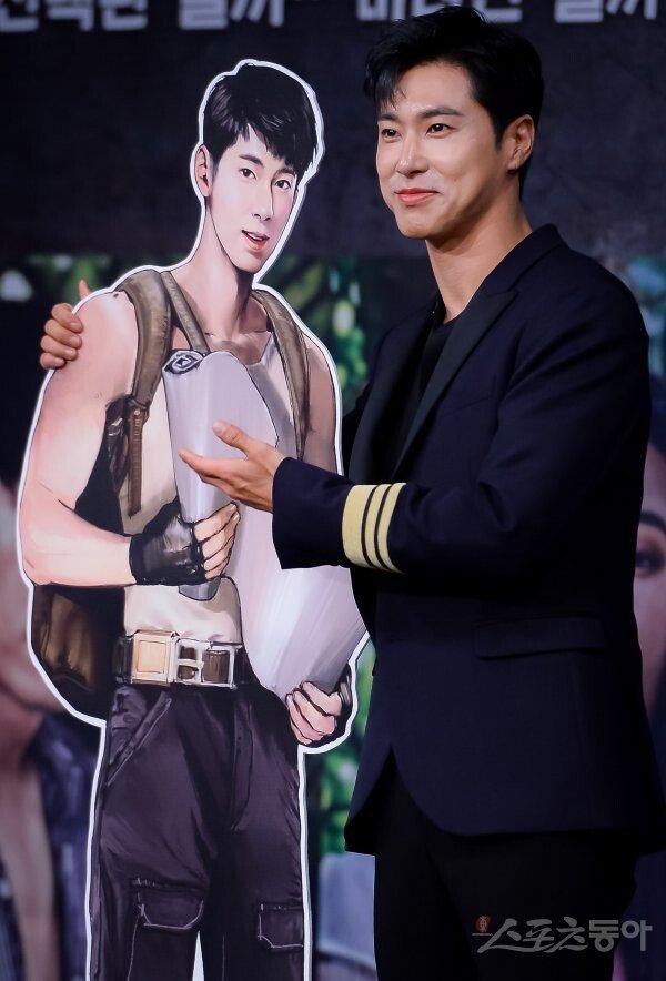 [포토] 동방신기 유노윤호 '저랑 똑같죠?'