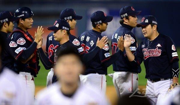 [포토] 롯데 'NC에 10-5 대승!'