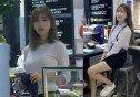"""'동탄 피시방' 미녀 알바생, 모델로 변신… """"데뷔해도 될 듯!"""""""
