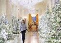 """멜라니아, 백악관 첫 성탄절 인테리어… """"매우 흥분돼"""""""