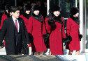 """""""남남북녀 실감""""… 난리난 北 응원단 미모"""