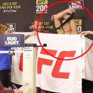 UFC 여전사, 속옷 탈의 왜?