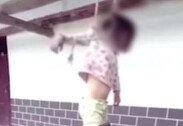 """""""이혼서류 왜 찢어""""… 딸아이 밧줄로 묶어 천장에 매단 남성"""