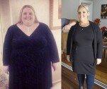 220kg 육박하던 여성, 친구 편지에 다이어트… 100kg 감량