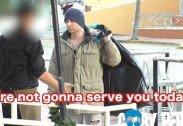 노숙자 차림의 억만장자, 레스토랑 입장 거부 당해