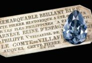 유럽 왕가, 300년 보관한 블루 다이아몬드, 최초 공개!