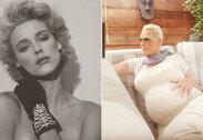 80년대 섹시 스타, 54세 나이로 임신…축하 봇물