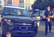 2세 아이, 벤츠 몰고 나왔다가…경찰에 딱지 끊긴 사연