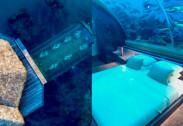 세계 최초 수중 호텔…수족관 형태 침실 '입이 쩍~'