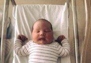5kg대 '슈퍼 우량아', 진통제 없이 출산한 여성