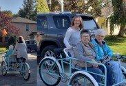 평생 자전거 즐기던 90대 할머니에…가족들이 전한 선물