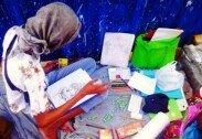 그림에 재능있는 노숙인 위해서…전시회 열어준 이웃들