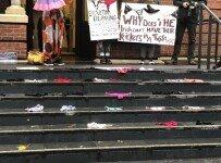 """""""속옷이 합의된 성관계 증거?""""…분노한 여성들, 시위 벌여"""