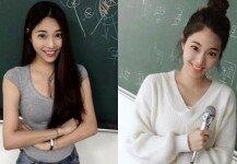 미모의 법학 강사…수업 듣기 위해 남학생들 '우르르'