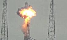 스페이스X '펠컨9' 폭발…페이스북 위성 실려 있어