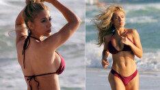 매력적인 몸매 뽐내며 운동에 열중!